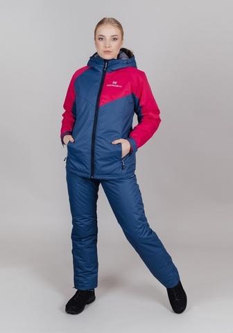 Nordski Premium Sport утепленная лыжная куртка женская denim