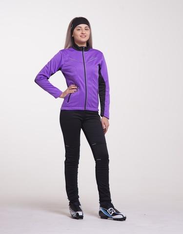 Nordski Premium женский разминочный костюм фиолет