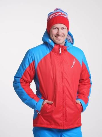 Nordski National мужская лыжная куртка RED