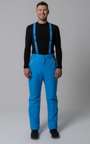 Nordski Premium прогулочные лыжные брюки мужские синие