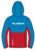 Nordski Montana Premium RUS утепленный лыжный костюм женский Blue-Red - 3