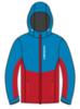 Nordski Montana Premium RUS утепленный лыжный костюм женский Blue-Red - 2