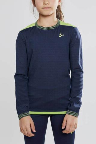 Craft Active Fuseknit Comfort комплект термобелья детский черный-синий