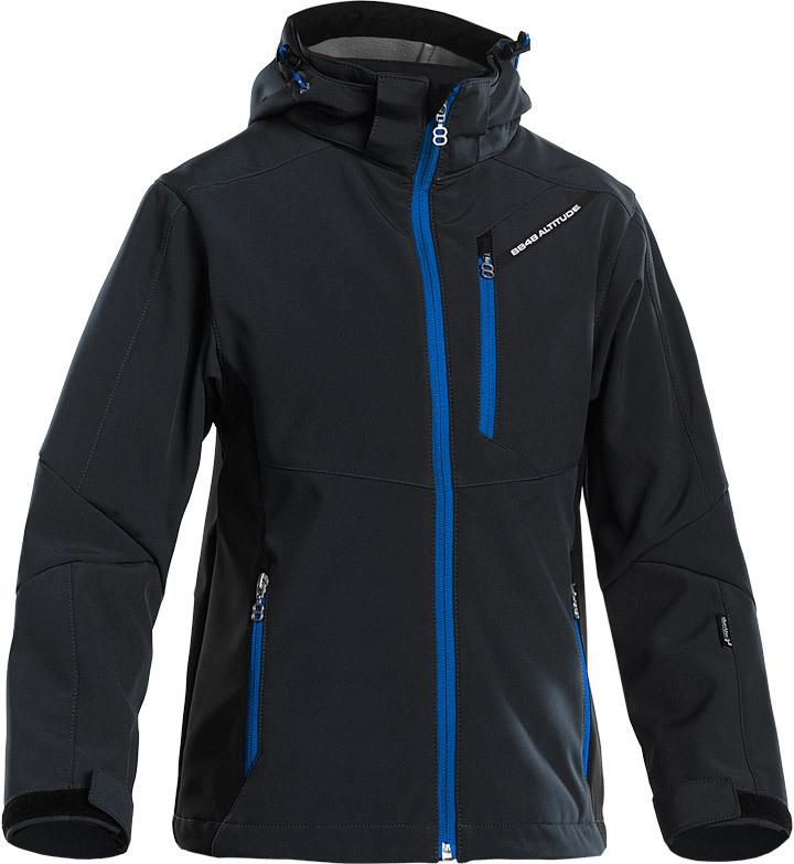 Детская Лыжная Куртка 8848 Altitude Apex JR Softshell Black