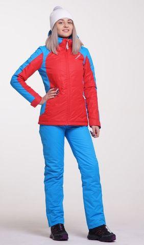 Nordski National утепленный лыжный костюм женский red