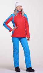 Nordski National 2020 утепленный лыжный костюм женский red