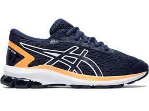Asics Gt 1000 9 Gs кроссовки для бега подростковые синие