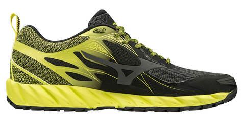 Mizuno Wave Ibuki кроссовки для бега мужские черные-желтые