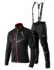 Victory Code Dynamic разминочный лыжный костюм с лямками black - 1