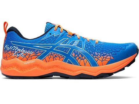 Asics Fujitrabuco Lyte кроссовки внедорожники мужские синие-оранжевые