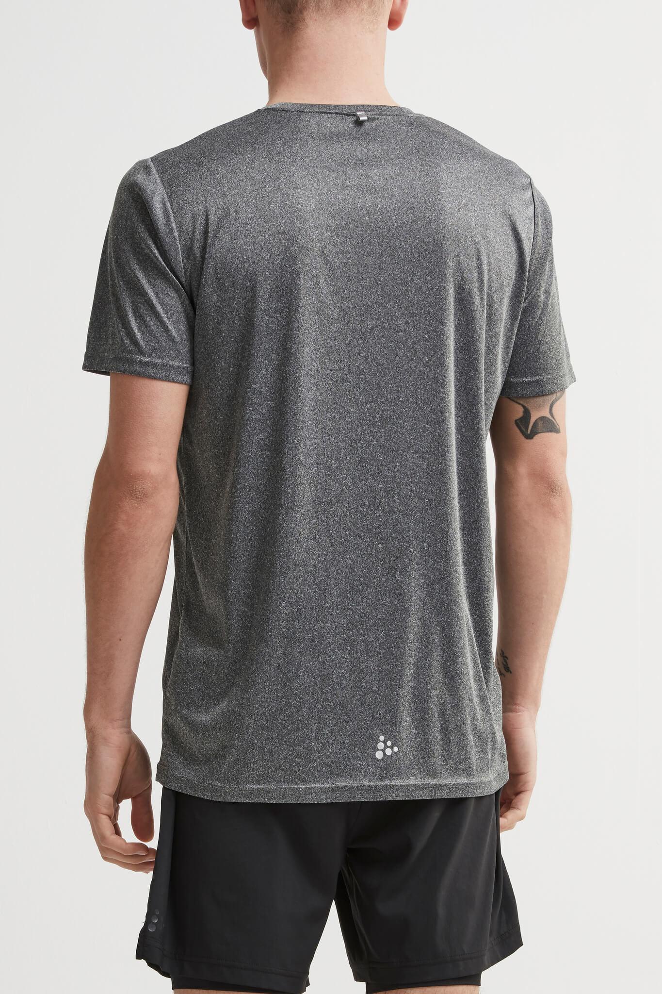 Craft Eaze SS Graghic футболка спортивная мужская grey - 3