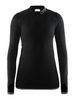 Craft Warm Intensity термобелье женское рубашка черная - 1