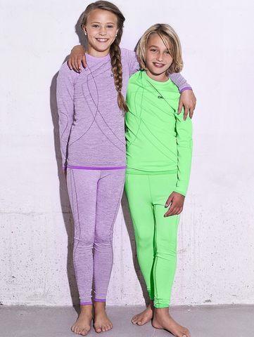 Термобелье кальсоны детские Craft Comfort purple