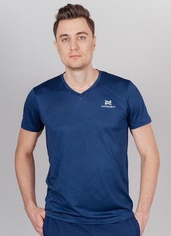 Nordski Ornament футболка спортивная мужская dark blue