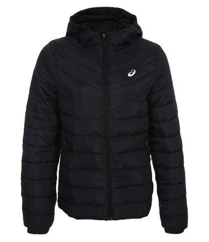 Asics Padded Jacket женская утепленная куртка черная