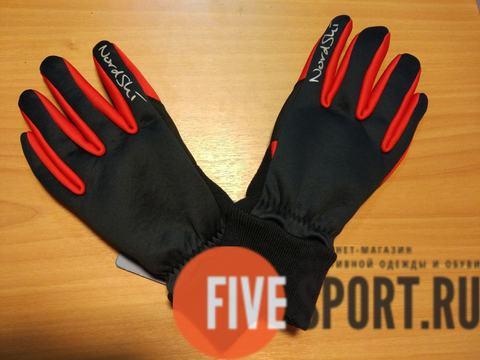 Nordski Racing WS лыжные перчатки Black-Red