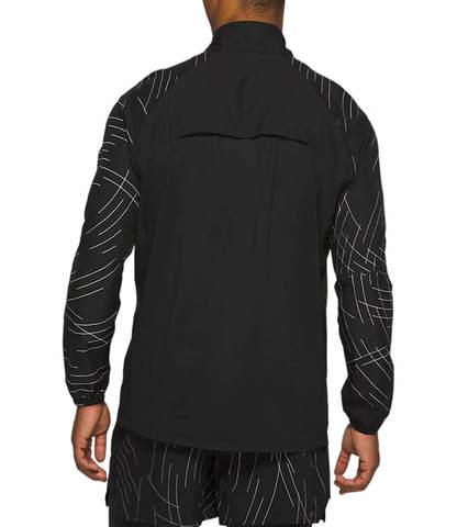 Asics Night Track Jacket ветровка мужская черная
