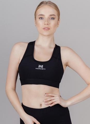 Nordski Pro Bra бра спортивный женский black