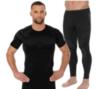 Brubeck Dry мужской комплект термобелья с футболкой графит-черный - 1