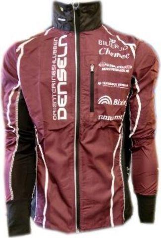 Noname Running Jacket Plus Denseln JR беговая куртка детская бордовая