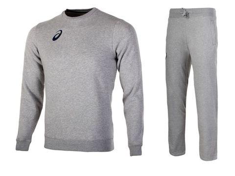 Asics Fleece Suit костюм спортивный мужской серый