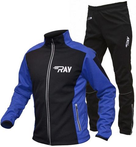 RAY Race WS лыжный костюм унисекс black-blue