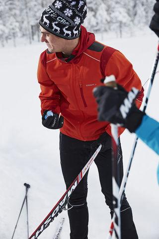 Craft Retro лыжная шапка вязаная черная