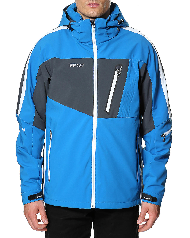 Горнолыжная куртка 8848 Altitude Steam Blue - 3