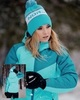 Nordski Premium Sport теплый лыжный костюм женский aquamarine - 3