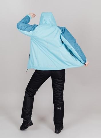 Nordski Premium Sport теплый лыжный костюм женский aquamarine