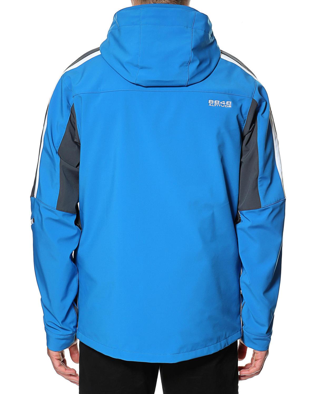 Горнолыжная куртка 8848 Altitude Steam Blue - 6