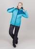 Nordski Premium Sport теплый лыжный костюм женский aquamarine - 1