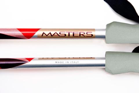 Masters Yukon Pro телескопические палки красные