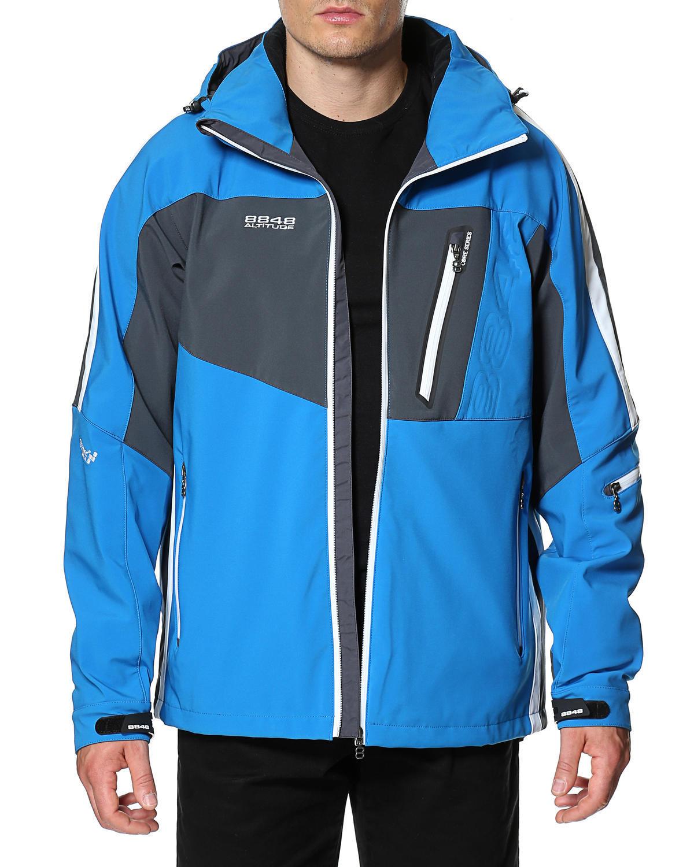 Горнолыжная куртка 8848 Altitude Steam Blue - 2