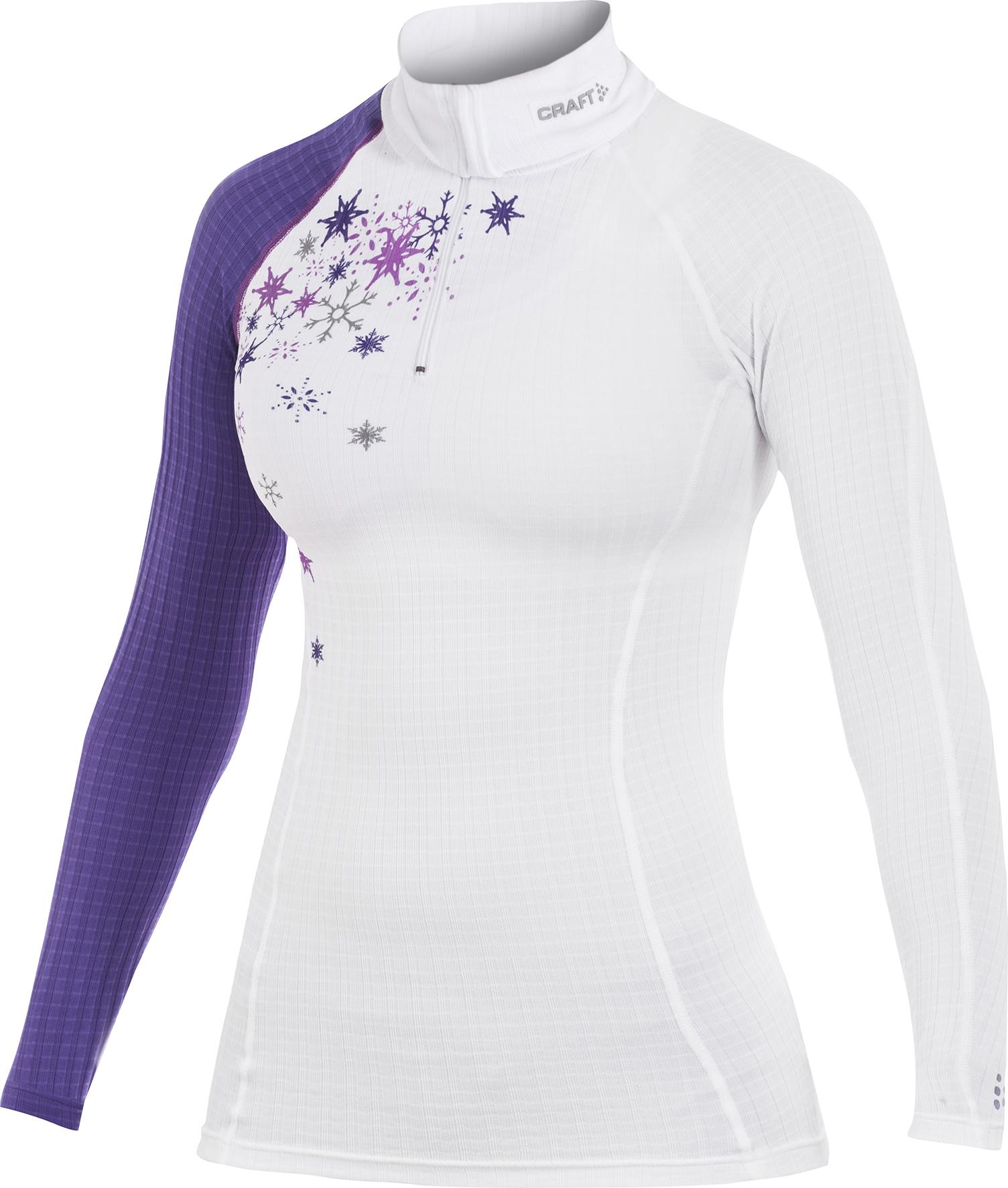 Термобелье Рубашка Craft Active Extreme женская фиолетовая