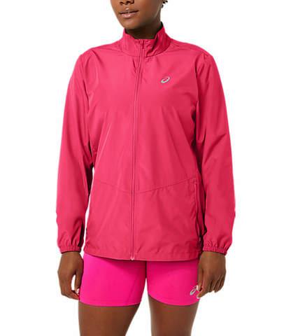 Asics Core Jacket куртка для бега женская розовая
