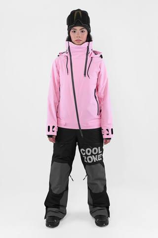 Cool Zone LILO сноубордический комбинезон женский светло-розовый-черный