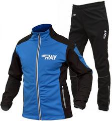RAY Pro Race мужской лыжный костюм blue