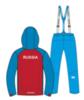 Nordski National утепленный лыжный костюм женский red - 4