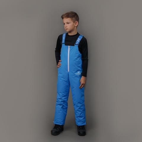 Nordski Kids теплые лыжные брюки детские blue