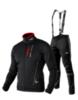 Victory Code Speed Up разминочный лыжный костюм с лямками black - 1
