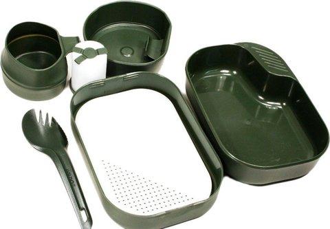 Wildo Camp-A-Box Complete набор туристической посуды olive