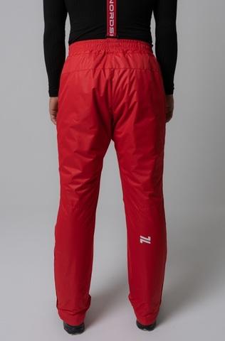 Nordski Premium теплые лыжные брюки мужские красные