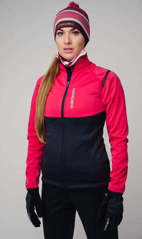Nordski Premium разминочная куртка женская blueberry-pink
