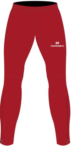 Nordski Motion 2020 разминочные лыжные брюки женские red