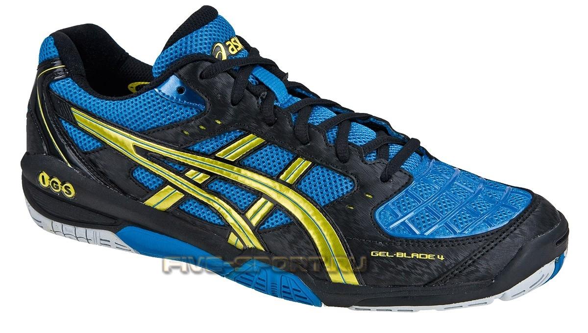 Asics Gel-Blade 4кроссовки волейбольные синие
