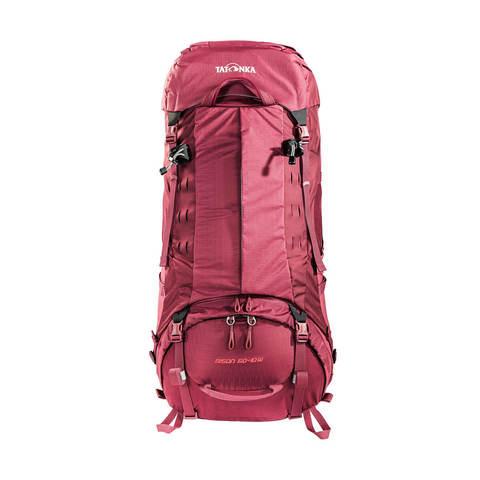 Tatonka Bison 65+10 туристический рюкзак женский bordeaux red