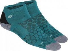 Asics Speed Sock Quarter носки бирюзовые-серые