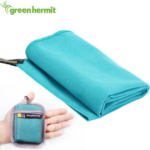 Green-Hermit Superfine Fiber Day Towel полотенце синее