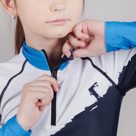 Nordski Jr Premium детский гоночный комбинезон deep blue-white
